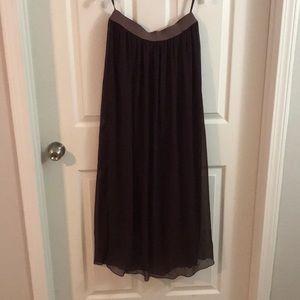 United colors of Benton's burgandy long maxi skirt